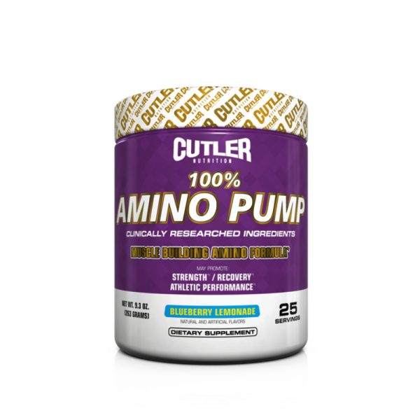 Cutler Nutrition Amino Pump Blueberry Lemon