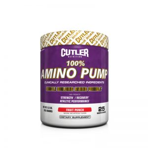 Cutler Nutrition Amino Pump Fruit Punch