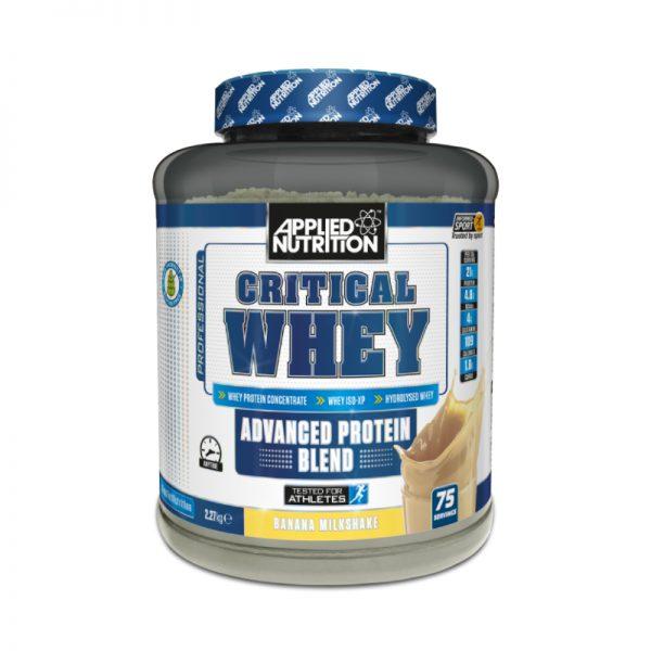 Allied Nutrition Critical Whey 2.2kg
