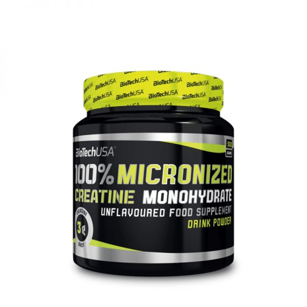 Biotech USA Micronized Creatine Monohydrate