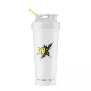 10X Athletic Shaker White 700ml